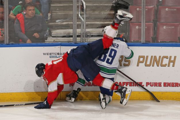 Eriksson, Vancouver Deal Florida Panthers 6th Straight Loss