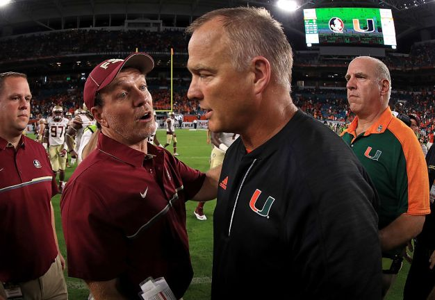 Miami-Florida State Game Could Be Impacted by Weather Again