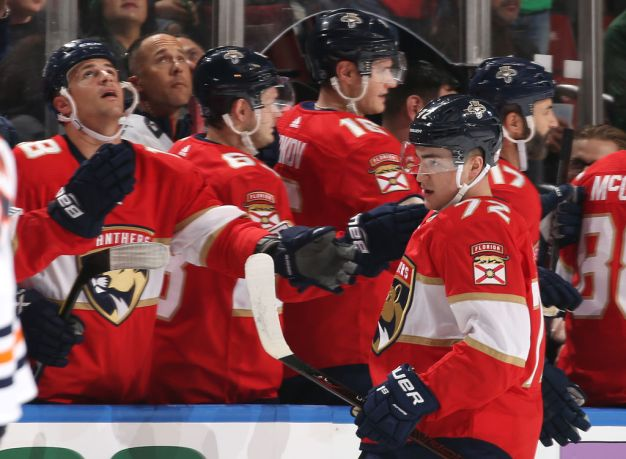 Late Goal Lifts Panthers to Win, Keeps Playoff Hopes Alive