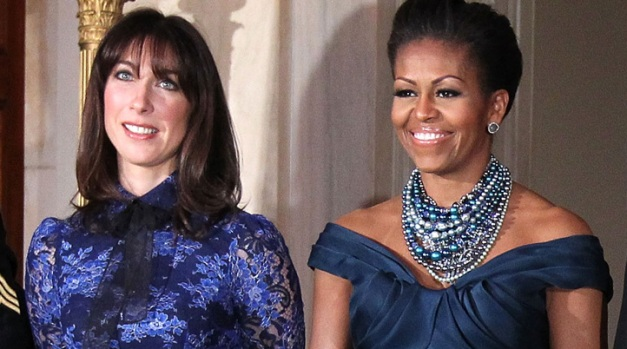 [THREAD] Fashion Face Off: Michelle Obama and Samantha Cameron