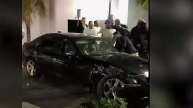 Video Shows People Bashing Vehicle in Miami Beach
