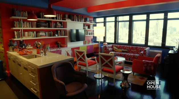 The Vibrant Home of Choreographer Chase Brock