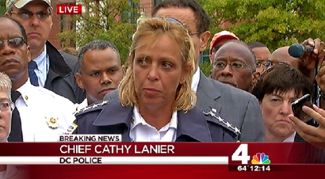 [NATL- DC] Mayor, Police Chief Speak About Navy Yard Shooting