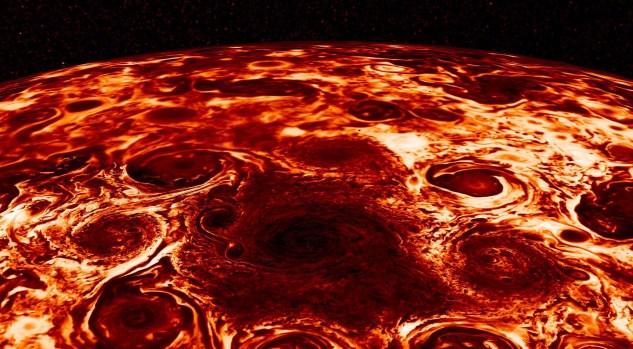 NASA's Juno Spacecraft Goes Storm Chasing Above Jupiter