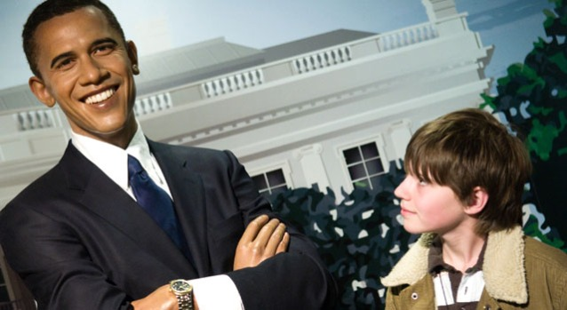 Madame Tussauds' Obama Wax Figures