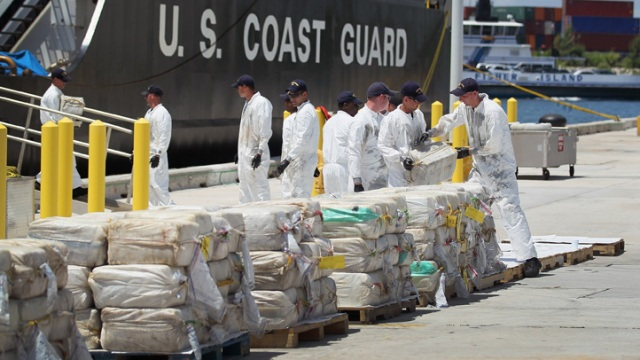 $180 Millon in Cocaine Unloaded After Coast Guard Bust