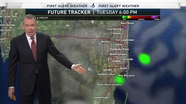 <p>NBC 6 Chief Meterologist John Morales has your First Alert Forecast for Monday, Oct. 22, 2018.</p>