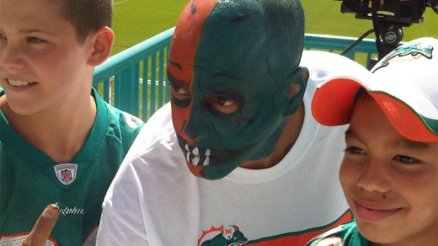 Dolphins Open Training Camp