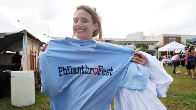 At The PhilanthroFest