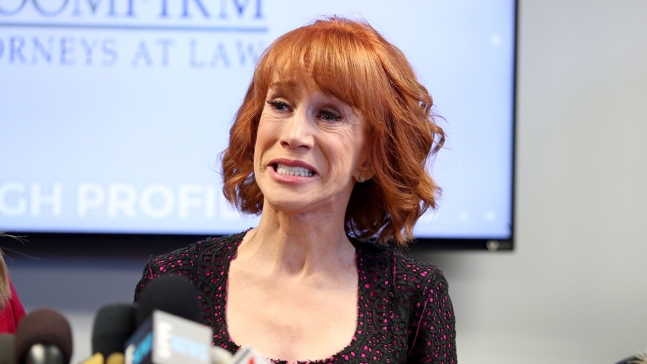 Businessman On Notice After Vulgar Kathy Griffin Rant