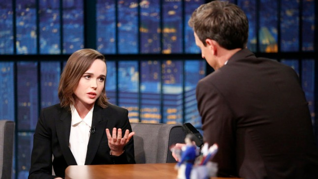 'Late Night': Ellen Page Talks National Vanguard Award
