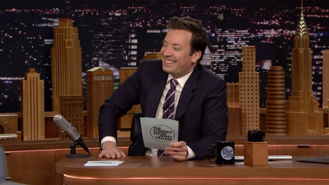 'Tonight': Fallon Reads His Favorite #WhyIQuit Hashtags