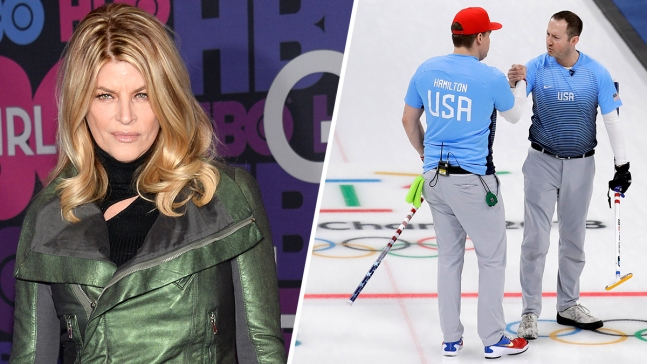 Olympic Feud: Kirstie Alley vs US Curlers