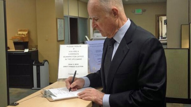 Jerry Brown to Seek Fourth Term as California Governor