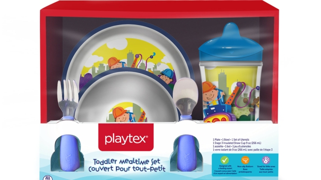 Posing Choking Risk, Millions of Children's Playtex Plates and Bowls Recalled