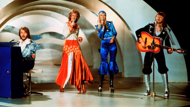 ABBA's Crazy Costumes Designed for Tax Breaks