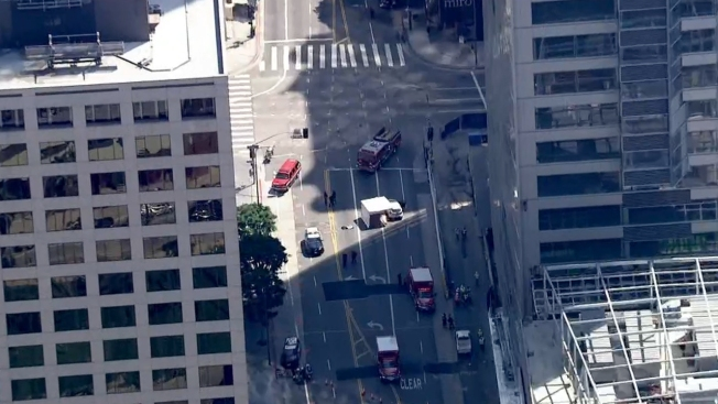 Construction Worker Killed In Fall From Downtown LA Skyscraper