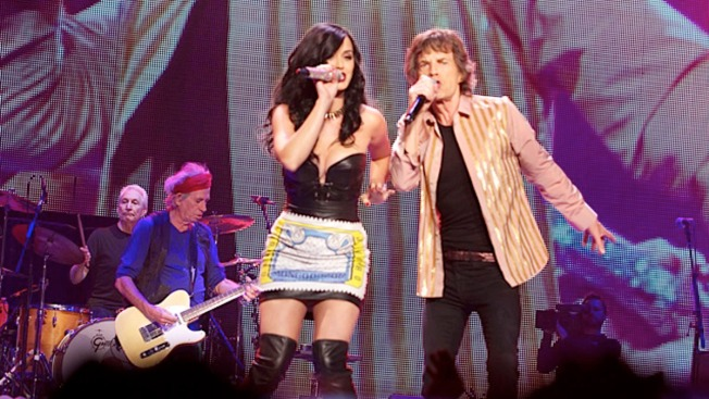 Mick Jagger Denies Hitting on Katy Perry