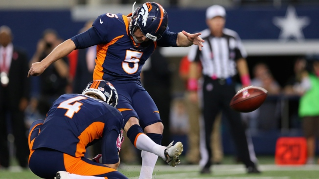 Prater Kicks Record 64-Yard Field Goal