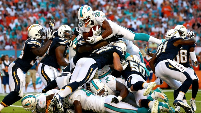 Miami Dolphins Lose Running Back Daniel Thomas to Ankle Injury
