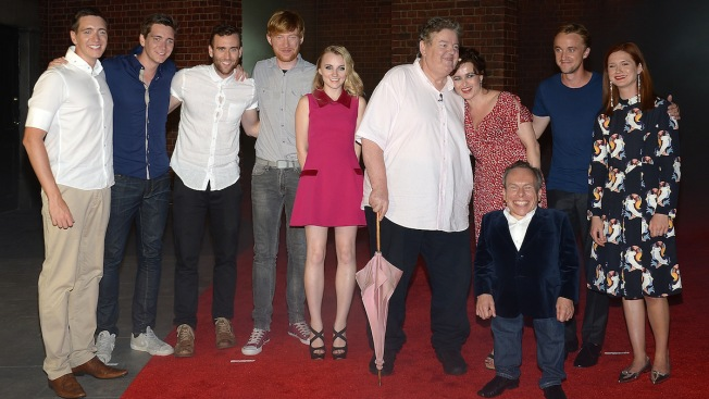 "The Cast of ""Harry Potter"" Reunited: See Who Assembled at the VIP Preview of Diagon Alley at The Wizarding World of Harry Potter"