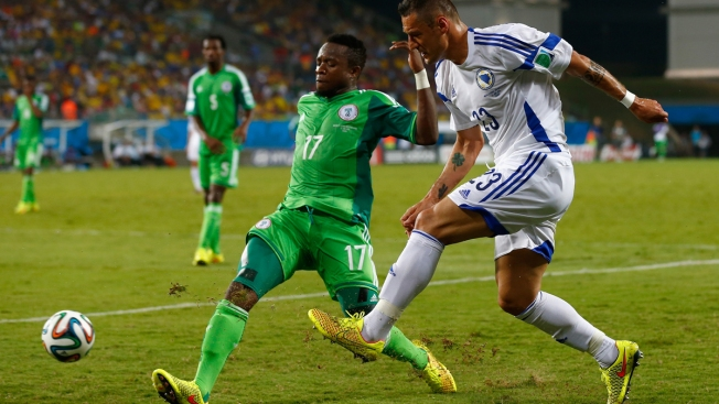 Nigeria Beats Bosnia-Herzegovina 1-0 at World Cup