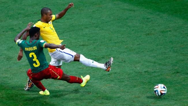 Brazil Beats Cameroon 4-1, Reaches 2nd Round