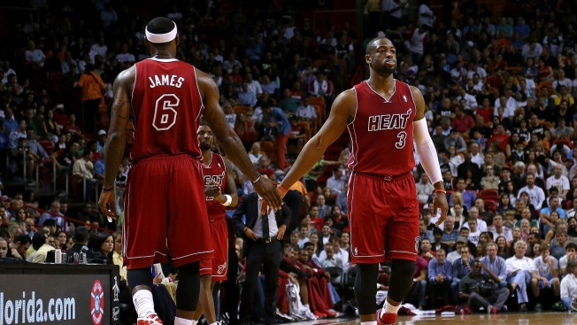LeBron James Says It's Tough Without Dwyane Wade