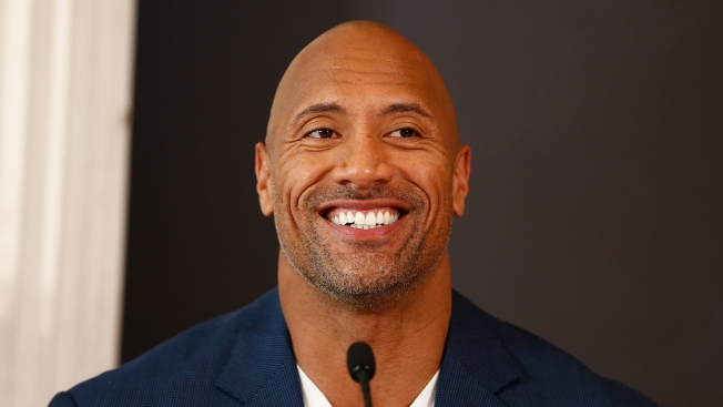 The Rock Joins Critics of Under Armour CEO's Trump Remark