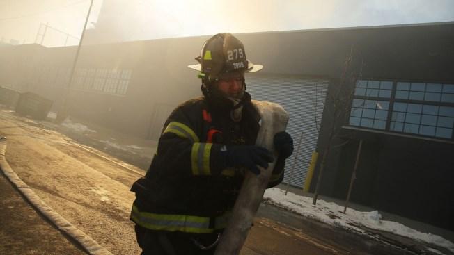 FDNY Battles 7-Alarm Warehouse Blaze for 2nd Day