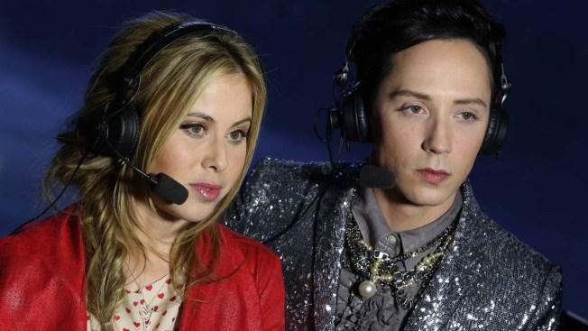 Tara Lipinski and Johnny Weir Headed to Oscars