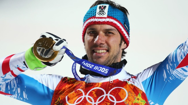 Austria's Mario Matt Wins Men's Olympic Slalom