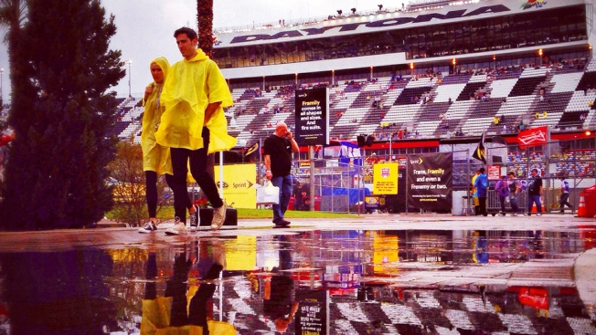 Daytona 500 Delays Now Common in NASCAR's Opener