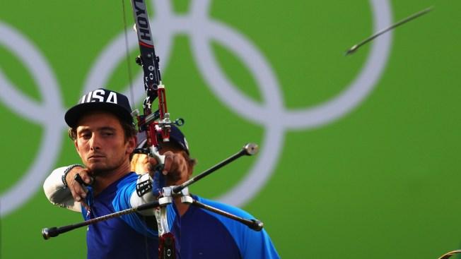 US Men's Archery Team Repeats as Silver Medalists in Rio