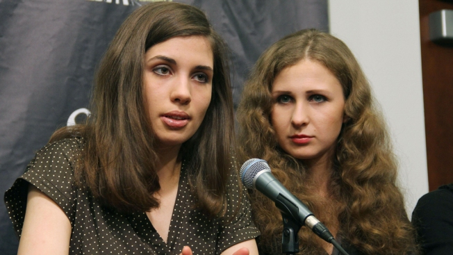 Pussy Riot Members Attacked in Russian Region