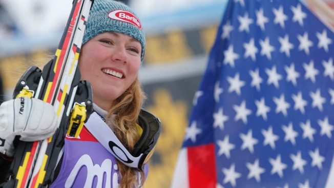 A Trial Run for Sochi: Shiffrin Wins in Snow, Rain