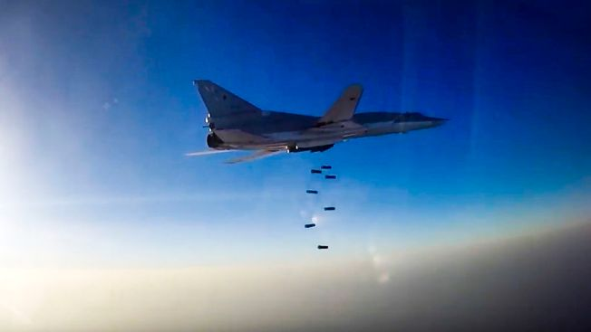 Russian Bombers Use Iran Base for Mission Against ISIS in Syria