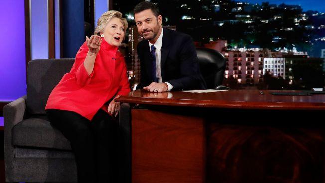 Clinton to Jimmy Kimmel: Trump Health Allegations a 'Wacky Strategy'