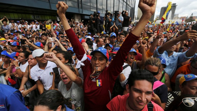 Venezuela's Opposition Stages Nationwide Protests