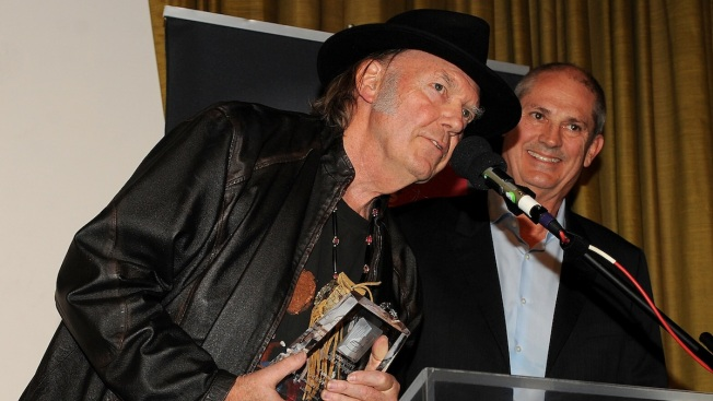 Neil Young Honored at Grammy Event