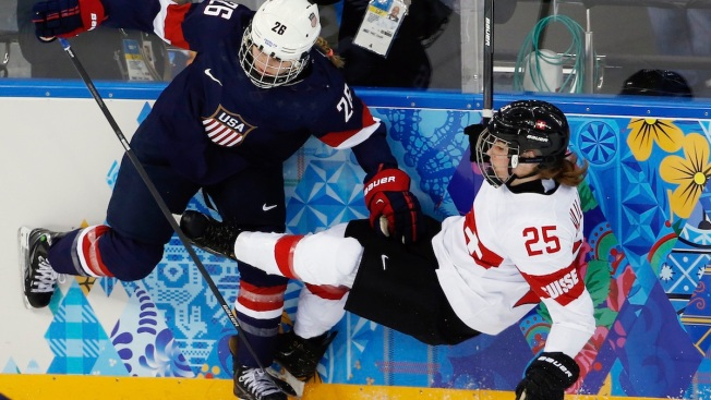 On Golden Ponds: U.S. Women Deliver Knockout Against Swiss