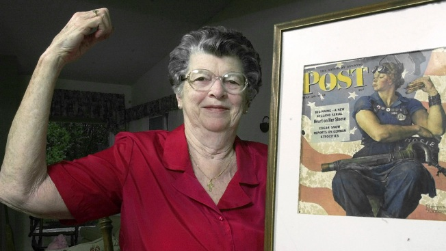 Model for Norman Rockwell's Rosie the Riveter Painting Dies at 92