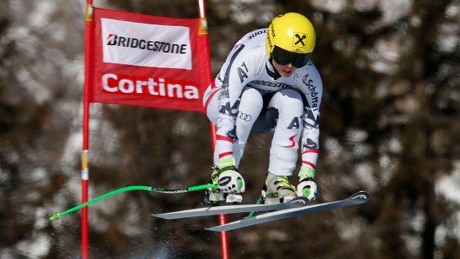 Anna Fenninger Tops in Downhill Training Run