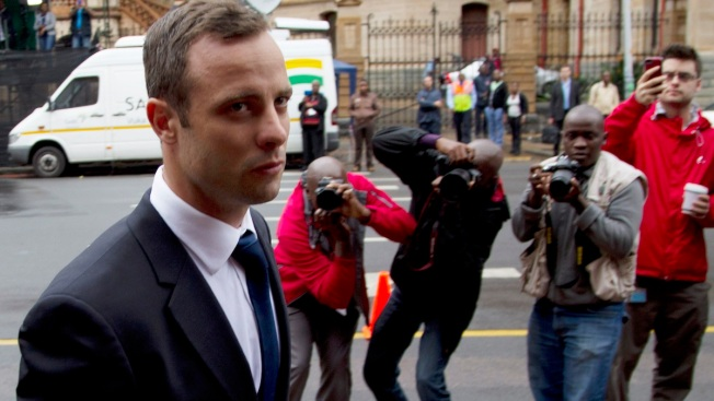 Pistorius Trial: Toilet Door Set up in Courtroom