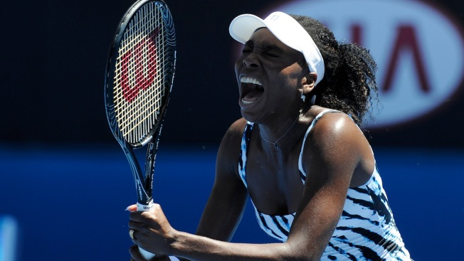 Venus Williams Defeated in First Round at Australian Open