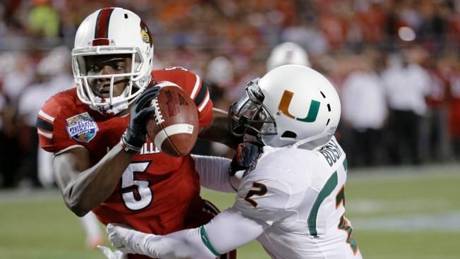 Louisville Beats Miami 36-9