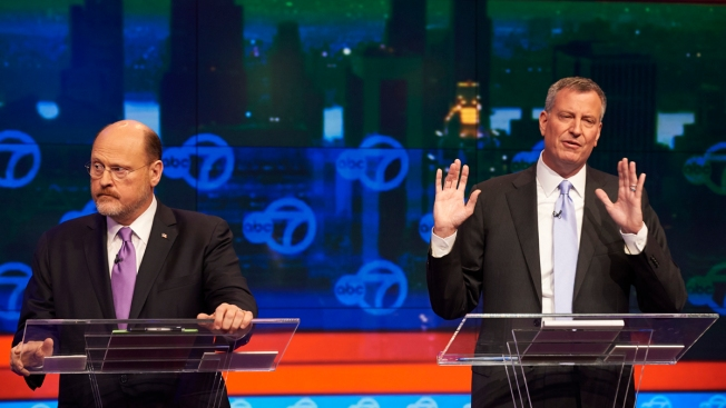 NYC Mayoral Rivals Square Off in Debate