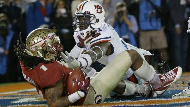 Fla. State Wins BCS Title Against Auburn, 34-31