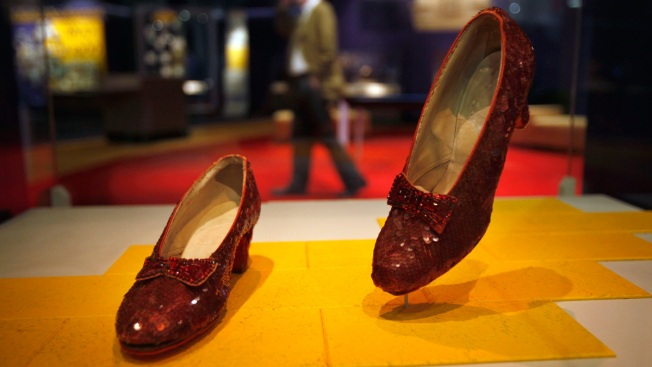 $300K Campaign Launched to Save Dorothy's Ruby Slippers