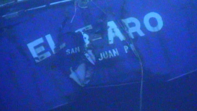 Black Box Recovered From 'El Faro' Ship That Sank During Hurricane Joaquin